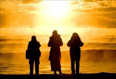 fotos de amaneceres en el mar amigos