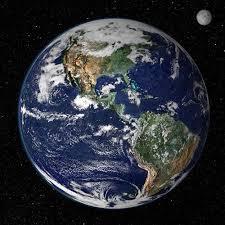 fotos de la tierra desde la luna espacio