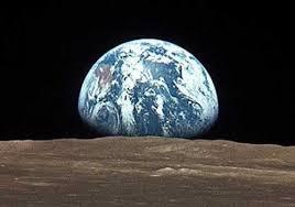 fotos de la tierra desde la luna marte