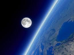 fotos de la tierra desde la luna vivo