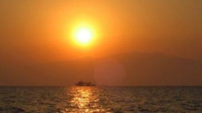 fotos de puestas de sol en el mar puesta