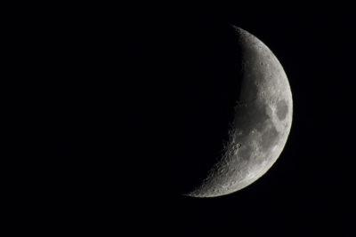 Imágenes De La Luna Menguante astro