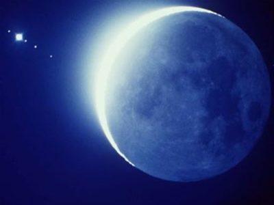 Imágenes De Las Fases De La Luna creciente