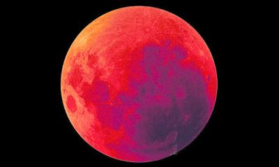 Imágenes De Luna Roja intensa
