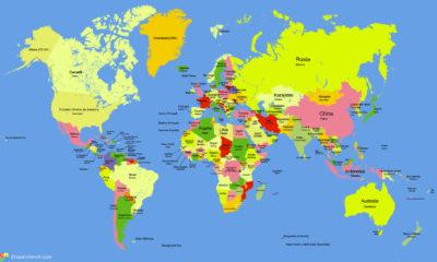 Imágenes De Mapas Mundi politico
