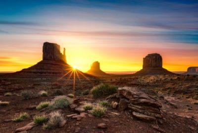 Imágenes De Paisajes De Atardecer desierto