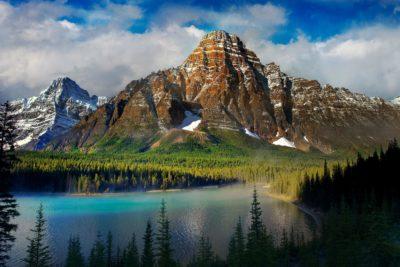 Imágenes De Paisajes De Montañas lago