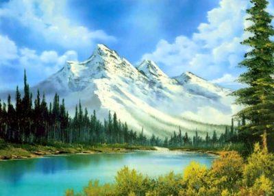 Imágenes De Paisajes De Montañas nevado