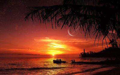 imagenes de paisajes lindos tarde