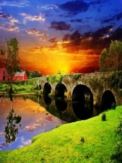 imagenes de paisajes para celular puente
