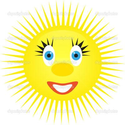 Imágenes Del Sol Para Niños rostro