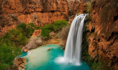 imagenes grandes de paisajes cascada
