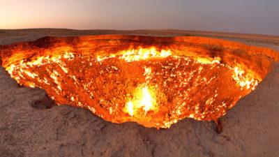 paisajes naturales del mundo reales fuego