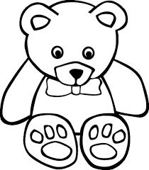 dibujos de osos para colorear infantiles