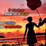 Imágenes De Atardeceres En El Mar Con Frases Románticas De Amor