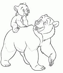 imagenes de osos para colorear hijos