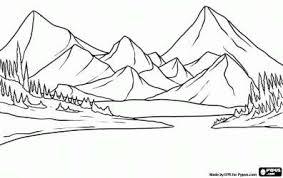 paisajes de colombia para colorear sierra nevada