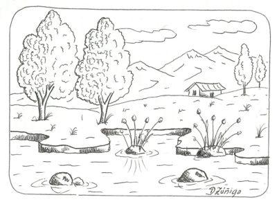 dibujos-de-paisajes-de-la-sierra