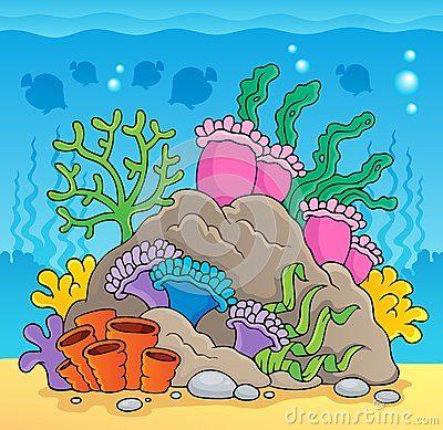Hermosas Imgenes De Arrecifes De Coral Para Colorear Facil