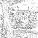 Los Mejores Dibujos De Paisajes Para Colorear E Imprimir