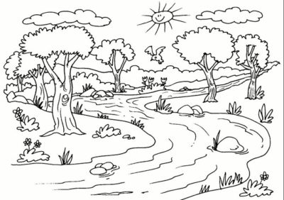 paisajes-naturales-para-dibujar-a-color