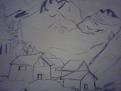paisajes-naturales-para-dibujar-a-lapiz