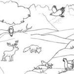 Los Mejores Paisajes Naturales Para Dibujar Fácil Y Bonitos