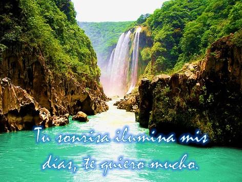 Imágenes de cascadas bonitas de México