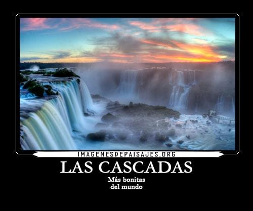 imagenes de las cascadas mas bonitas del mundo
