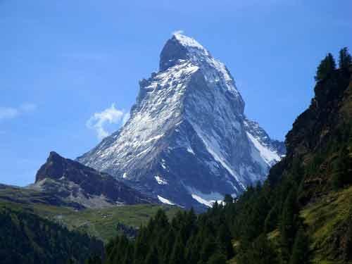 Imágenes de los alpes suizos