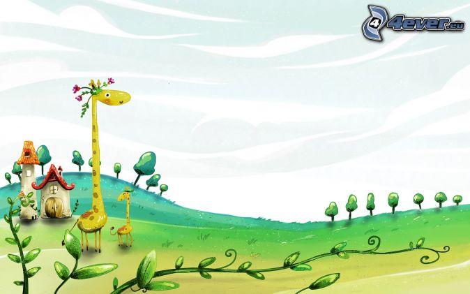 Fondos de paisajes animados gratis para descargar for Fondos animados gratis