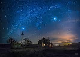 Fotos De Paisajes De Noche estrellas