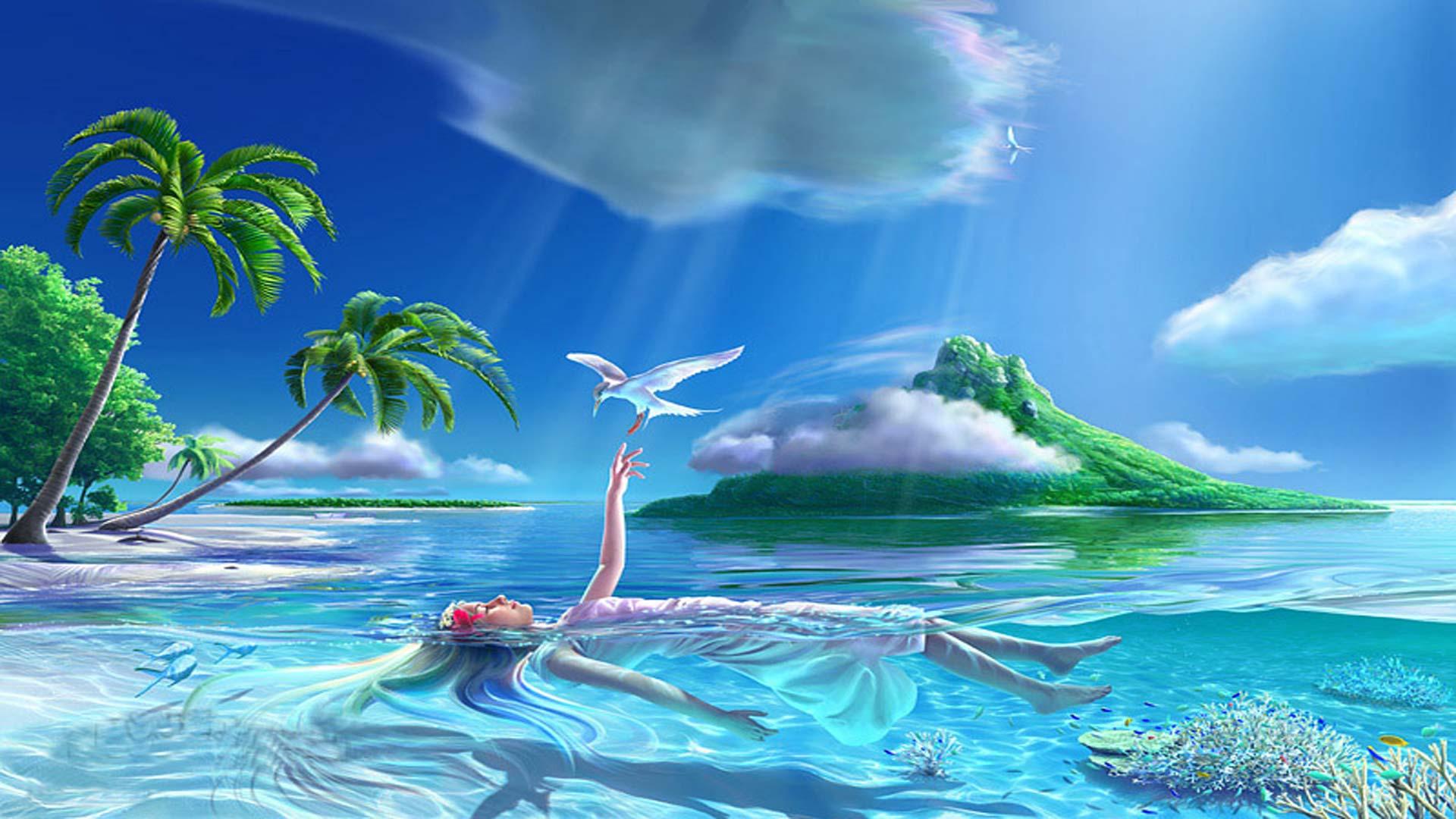 Fotos de paisajes para descargar para fondo de pantalla for Fondos de piscinas dibujos
