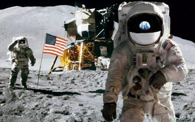 Imágenes De Astronautas En La Luna base