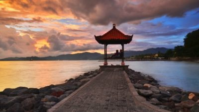 Imágenes De Atardeceres Románticos cielo asia
