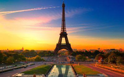 Imágenes De Atardeceres Románticos cielo paris