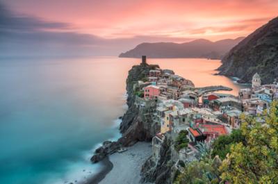 fotos de amaneceres en el mar ciudad