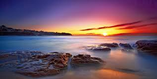 fotos de amaneceres en el mar hermosos