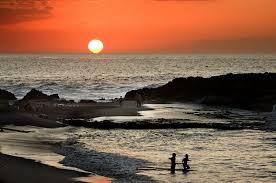 fotos de puestas de sol en el mar ocaso