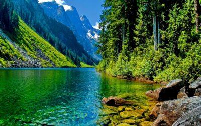 Imágenes De Fondo De Paisajes lago
