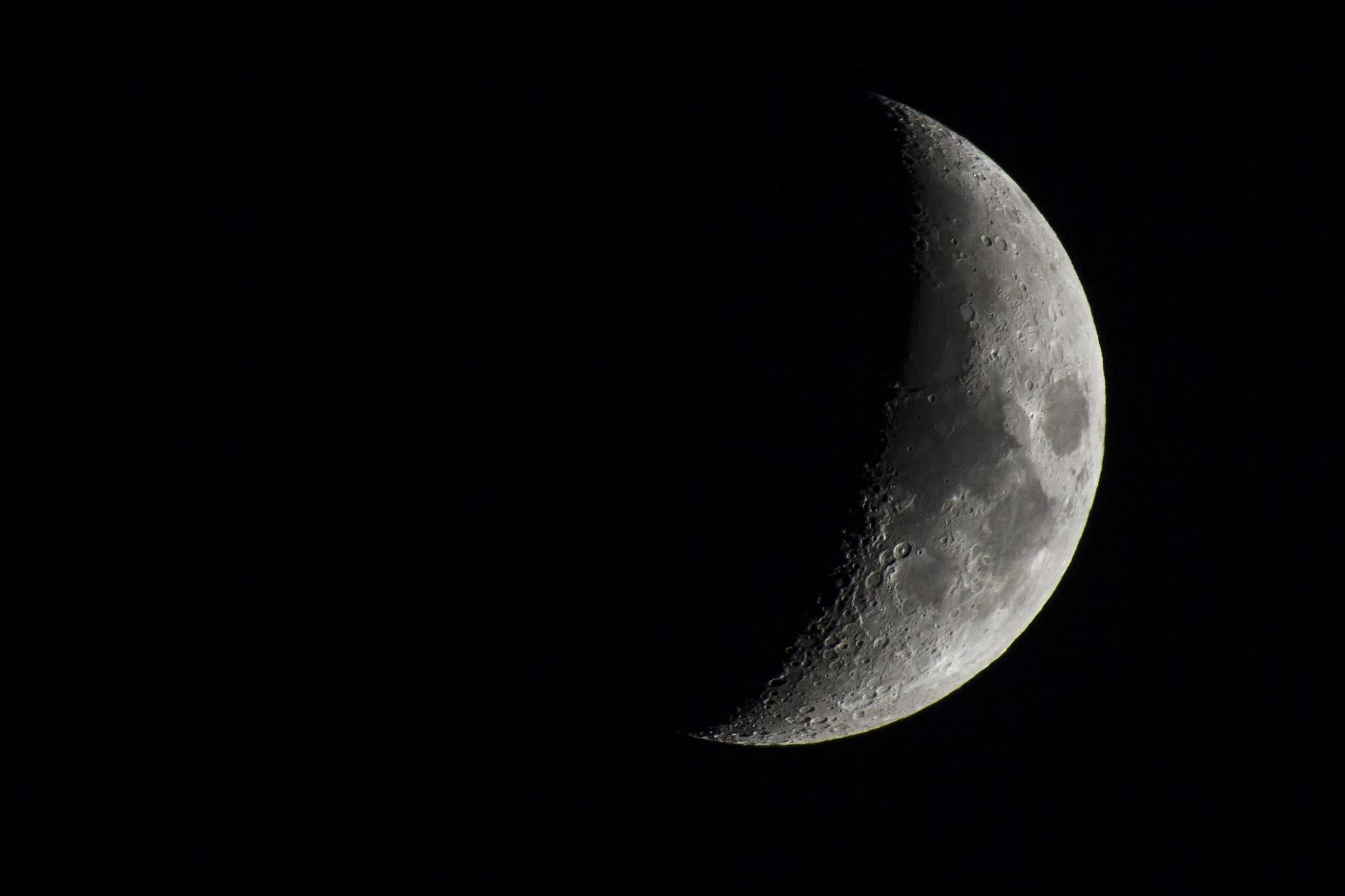 Hermosas im genes de la luna menguante para descargar for Fases de la luna hoy