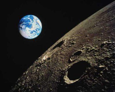 Imágenes De La Tierra Desde La Luna crater