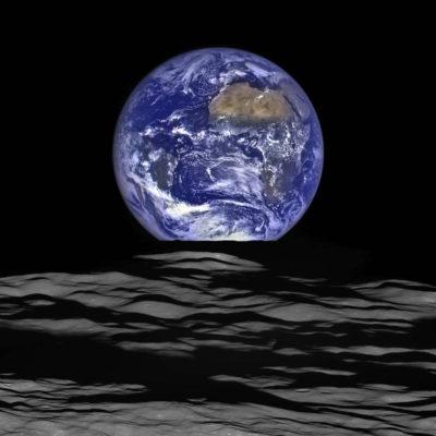 Imágenes De La Tierra Desde La Luna entera
