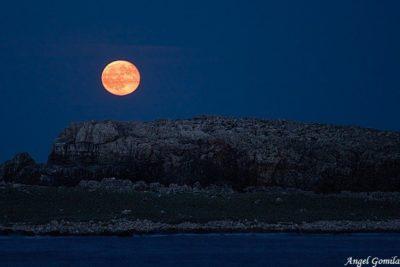 Imágenes De Luna Roja montes