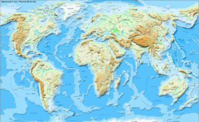 Imágenes De Mapas Del Mundo fisico