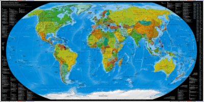 Imágenes De Mapas Mundi paises