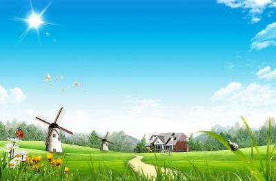 Imágenes De Paisajes En Caricatura granja