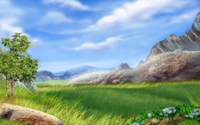 Imágenes De Paisajes En Caricatura nubes