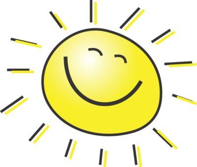 imagenes del sol en caricatura facil