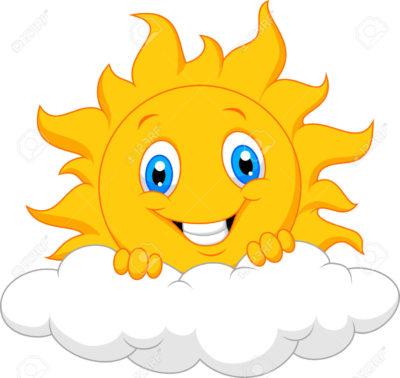 imagenes del sol en caricatura nube